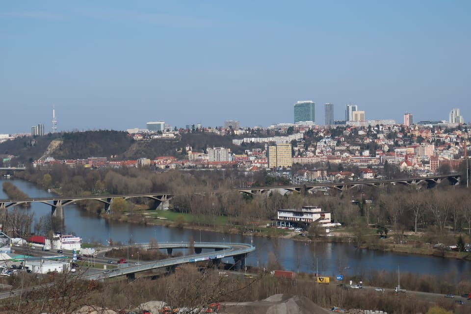 Aussichtspunkt im Hain von Prag-Chuchle | Foto: Štěpánka Budková,  Radio Prague International