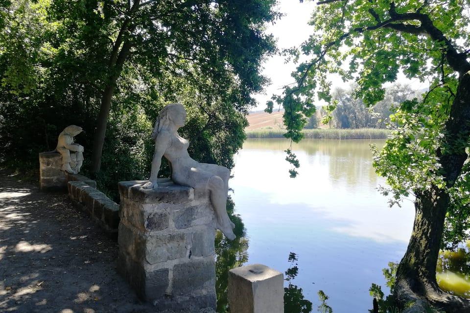 Brückchen am Teich Dolanský  (Foto: Štěpánka Budková)