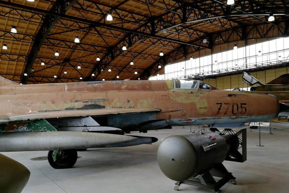 MiG-21  (Foto: Štěpánka Budková)