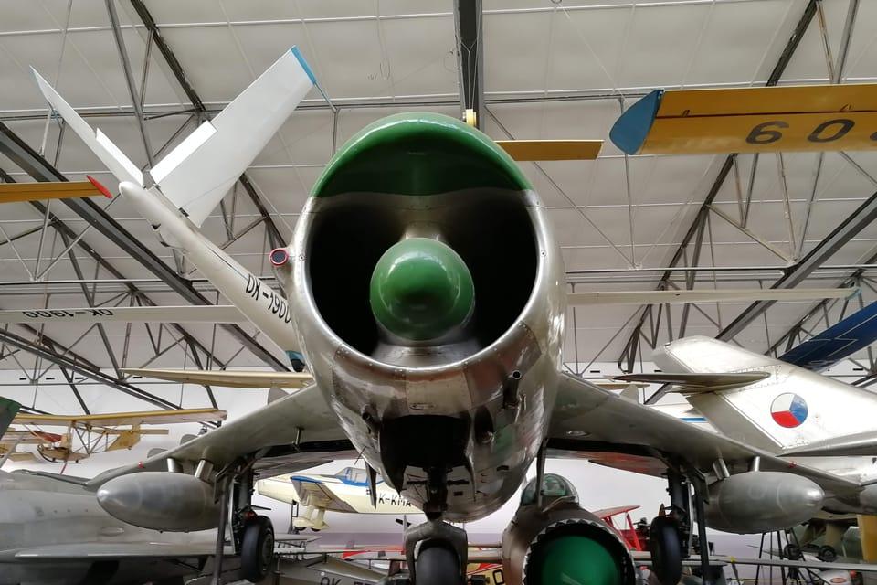 MiG-17  (Foto: Štěpánka Budková)