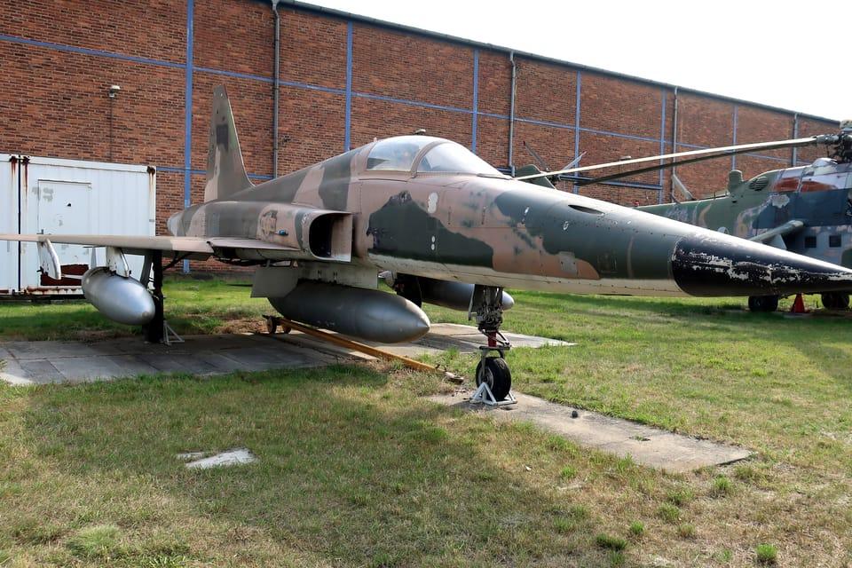 Northrop F-5E Tiger II  (Foto: Štěpánka Budková)