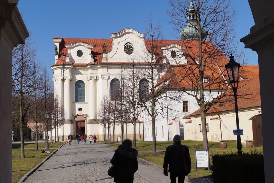 Basilika der hl. Margarethe  (Foto: Archiv Radio Prague Int.)
